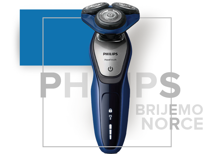 philips aquatouch: brijemo norce